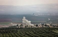 Đoàn xe lực lượng ủng hộ chính phủ Syria tiến vào vùng chiến sự Afrin