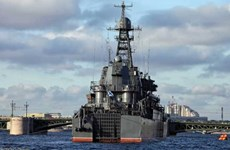 Hải quân Nga điều tàu chiến của hạm đội Baltic tới vùng biển Syria