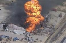 Nổ nhà máy hóa chất ở Mỹ làm ít nhất một người mất tích