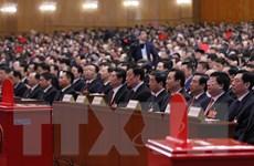 Điện mừng nhân dịp Trung Quốc bầu ra lãnh đạo khóa mới