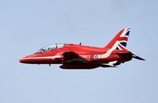 Một máy bay của không quân hoàng gia Anh rơi ở căn cứ xứ Wales