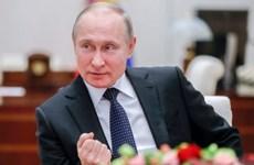 Nhà lãnh đạo Triều Tiên chúc mừng chiến thắng của tổng thống Putin