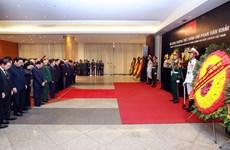 [Video] Tổ chức trọng thể lễ truy điệu nguyên Thủ tướng Phan Văn Khải