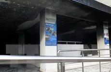 Cháy chung cư Carina Plaza: Cửa ngăn cháy bị chèn đá