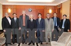 Tổng Bí thư Nguyễn Phú Trọng tiếp Bí thư toàn quốc Đảng Cộng sản Pháp