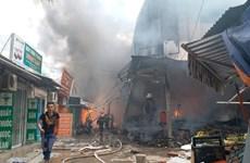 Hà Nội điều tra nguyên nhân gây ra vụ cháy chợ Quang tại Thanh Trì