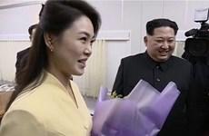 Nhà lãnh đạo Triều Tiên tham dự buổi diễn của đoàn nghệ sỹ Hàn Quốc
