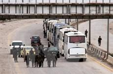 Nhóm Jaish al-Islam đạt thỏa thuận rời thành trì cuối cùng ở Ghouta