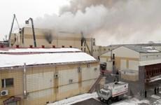 Vụ cháy trung tâm thương mại Nga: Thống đốc tỉnh Kemerovo xin từ chức