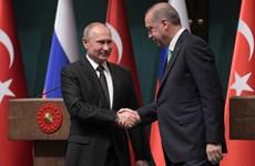 Tổng thống Putin: Quan hệ giữa Nga-Thổ Nhĩ Kỳ phát triển tốt đẹp