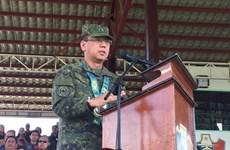 Tổng thống Philippines bổ nhiệm tân tham mưu trưởng lực lượng vũ trang