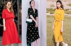 Ngất ngây với street style ngập tràn váy đầm cổ điển của mỹ nhân Việt