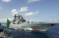 Nga tập trận gần biển Syria giữa lúc Mỹ đang cân nhắc tấn công quân sự