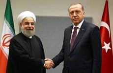 Thổ Nhĩ Kỳ, Iran nhất trí duy trì hợp tác 3 bên về vấn đề Syria