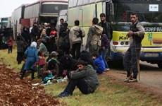 Syria: Phiến quân Jaish al-Islam đạt thỏa thuận rời thị trấn Dumayr