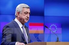 Cựu Tổng thống Armenia Serzh Sarkisian được bầu làm thủ tướng