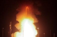 Không quân Mỹ thử thành công ICBM Minuteman III tại California