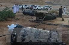 Saudi Arabia bắn hạ tên lửa của phiến quân Houthi ở Yemen