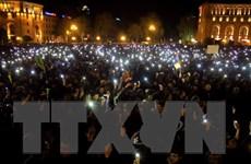 Người biểu tình Armenia phong tỏa một số tuyến đường dẫn vào thủ đô