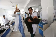 Afghanistan: 45 học sinh nhập viện do nghi bị tấn công bằng khí độc