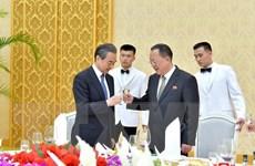 Ngoại trưởng Trung Quốc hội kiến với nhà lãnh đạo Triều Tiên