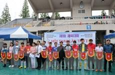 Đông đảo kiều bào tham dự Hội thao Hội người Việt tại Hàn Quốc