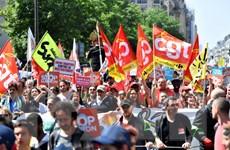 Cảnh sát Pháp bắt 8 đối tượng mang dao và bình xịt đi biểu tình