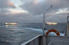 Argentina bắn cảnh cáo tàu cá Trung Quốc đánh bắt trái phép