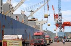 Tôn Hoa Sen xuất lô hàng 15.000 tấn đầu tiên từ Bình Định đi châu Âu