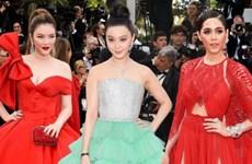 ''Cuộc chiến thời trang'' của Lý Nhã Kỳ và dàn sao châu Á tại Cannes