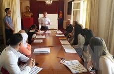 Đại sứ quán Việt Nam ở Algeria mở lớp học dạy tiếng Việt