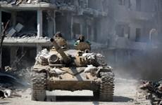 Syria: Phiến quân rút khỏi khu vực bị bao vây cuối cùng ở miền Trung