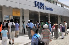 Số khách du lịch tới thành phố biên giới liên Triều tăng mạnh
