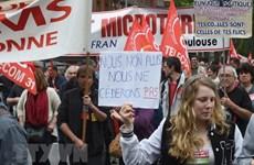 Biểu tình trên toàn quốc phản đối cải cách của Tổng thống Pháp Macron