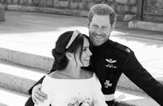 Hé lộ bức ảnh chưa từng thấy của Hoàng tử Harry và Meghan