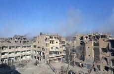 Liên quân do Mỹ đứng đầu không kích Syria, 11 dân thường tử vong