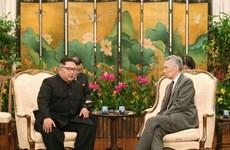 Kim Jong-un đánh giá cao vai trò của Singapore trong cuộc gặp với Mỹ
