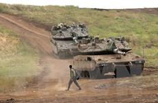 Quân đội Israel tập trận quy mô lớn tại Cao nguyên Golan