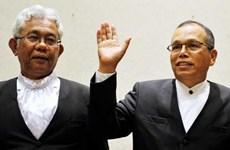 Malaysia: Hai chánh án do cựu thủ tướng Razak bổ nhiệm đã từ chức