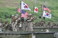 Bộ Quốc phòng Mỹ cân nhắc tương lai các cuộc tập trận với Hàn Quốc