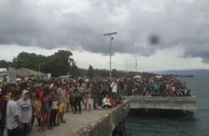 Chìm thuyền chở du khách, một người chết và hơn 60 người mất tích