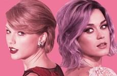 """Katy Perry bắt tay cùng """"phù thủy tạo hit"""" để đánh bật Taylor Swift?"""