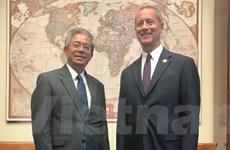 Việt Nam, Hoa Kỳ thảo luận biện pháp tăng quan hệ giữa hai Quốc hội