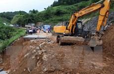 Phó Thủ tướng chỉ đạo khắc phục hậu quả mưa lũ tại Lai Châu