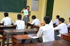 Động viên thí sinh dự kỳ thi THPT quốc gia ở miền núi Quảng Trị