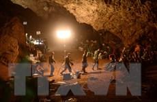 Mưa lớn ảnh hưởng tới việc tìm kiếm đội bóng mất tích trong hang động