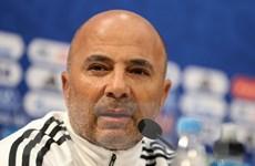 Huấn luyện viên Jorge Sampaoli nói gì sau thất bại của Argentina