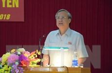 Thường trực Ban Bí thư Trần Quốc Vượng làm việc tại Quảng Ngãi