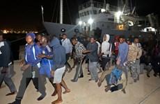 Hàng chục người di cư mất tích trong vụ chìm tàu Địa Trung Hải