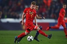 """World Cup 2018: De Bruyne cần tỏa sáng để Bỉ giải """"bài toán"""" Brazil"""